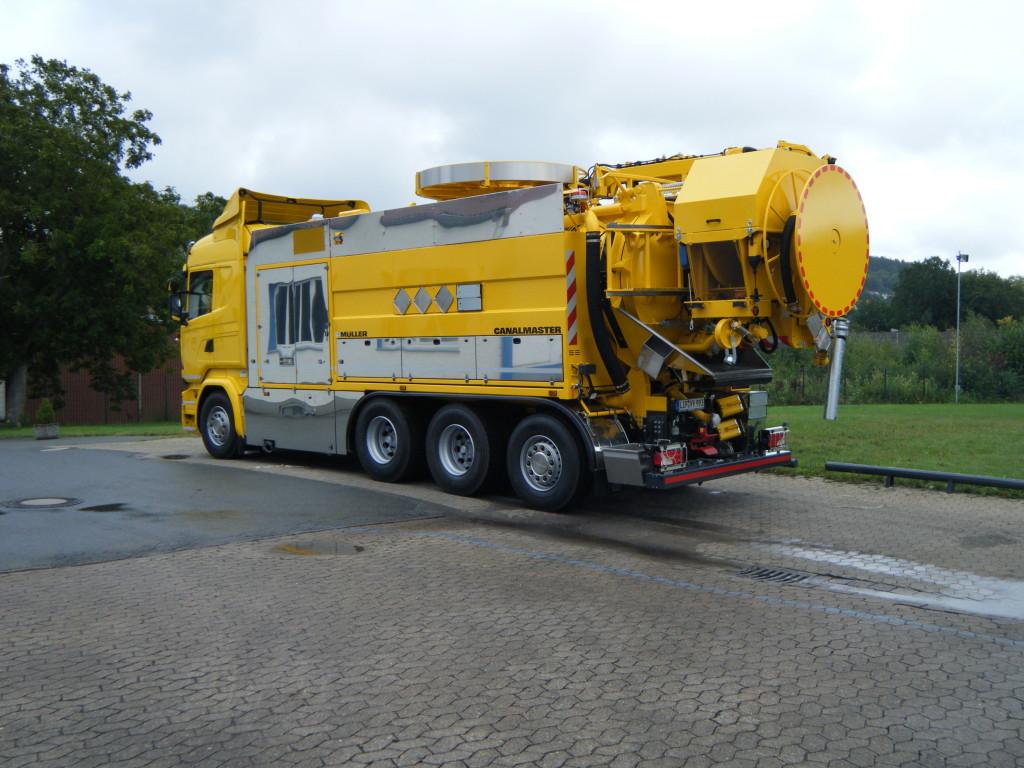 Johny Birkeland Transport 11443900 Canalmaster F170 KGT Scania R580 Bilde 1