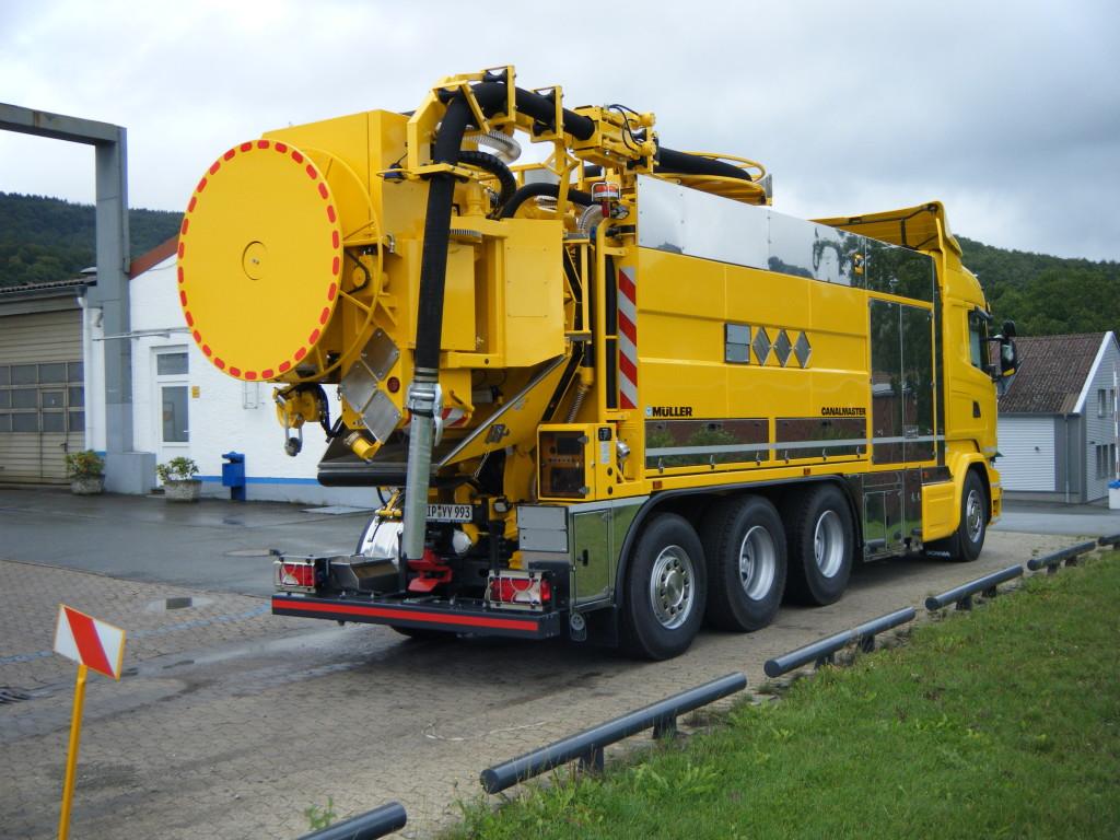 Johny Birkeland Transport 11443900 Canalmaster F170 KGT Scania R580 Bilde 2