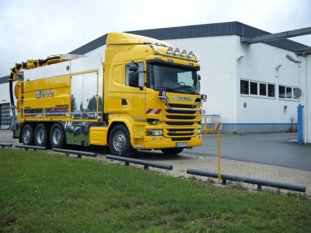 Johny Birkeland Transport 11443900 Canalmaster F170 KGT Scania R580 Bilde 3